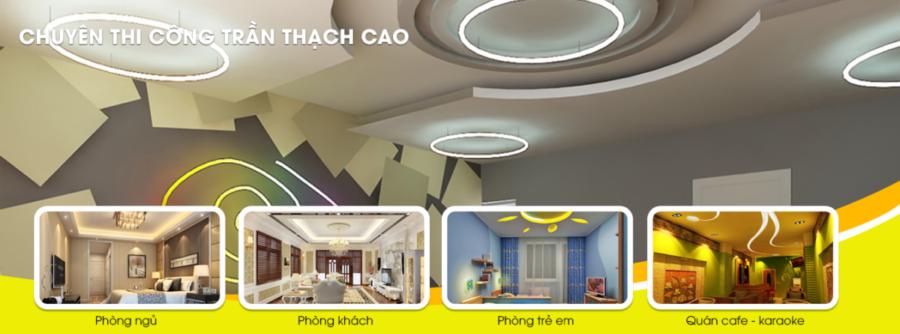 Thiết kế website trần thạch cao chuẩn SEO, giá rẻ tại Thanh Hóa