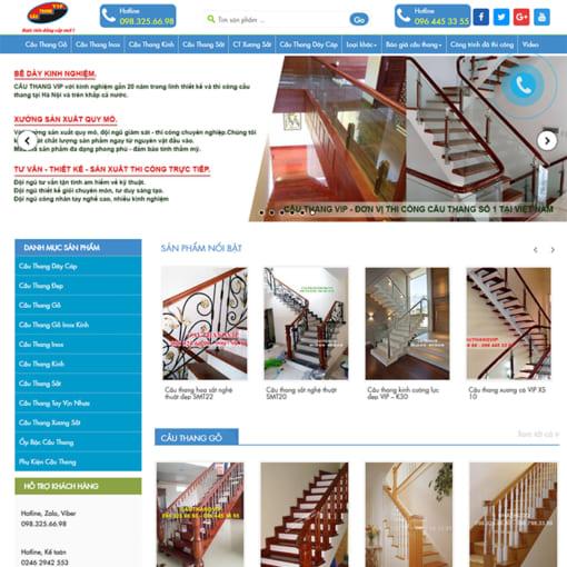 Mẫu Website Nội Thất Cầu Thang MA-1097