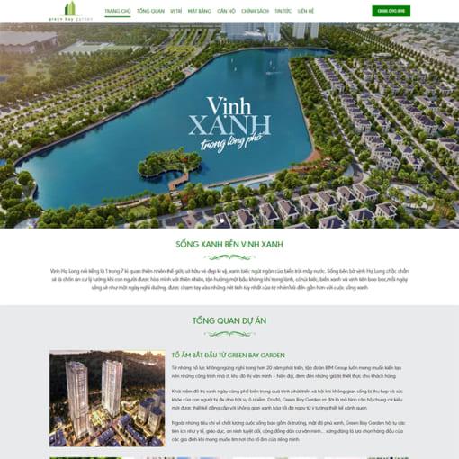 Mẫu Website Bất Động Sản MA-1059