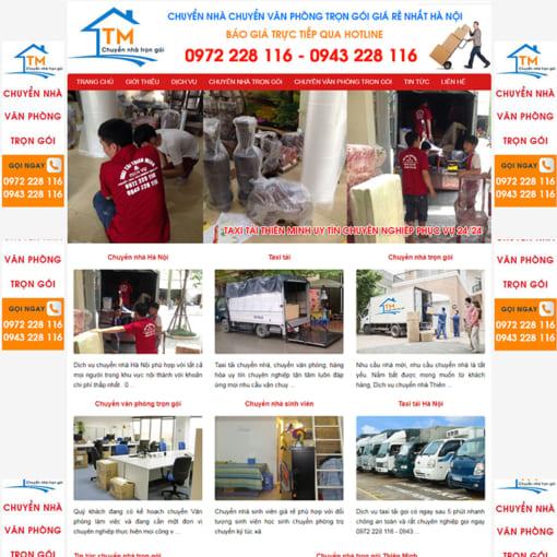 Mẫu Website Chuyển Nhà Trọn Gói MA-3005