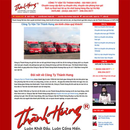 Mẫu Website Chuyển Nhà Trọn Gói MA-3009