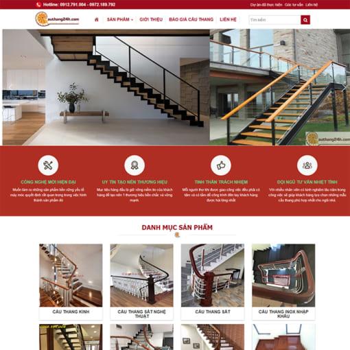 Mẫu Website Nội Thất Cầu Thang MA-1096