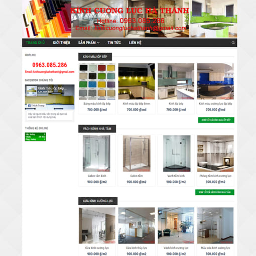 Mẫu Website Nội Thất Cầu Thang MA-1098