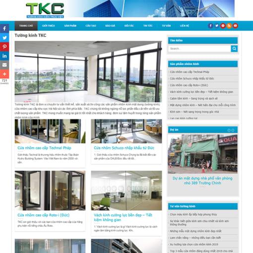 Mẫu Website Nội Thất Cầu Thang MA-1099