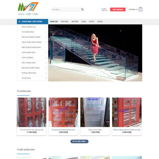 Mẫu Website Nội Thất Cầu Thang MA-1101