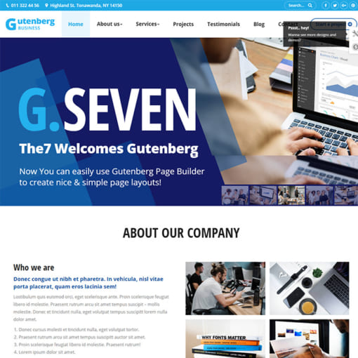 Mẫu Website Quốc Tế - Công Ty Đa Dịch Vụ -MA-2006