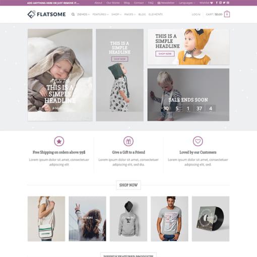 Mẫu Website Quốc Tế - Shop Thời Trang MA-1121
