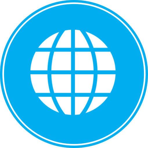 Mẫu Website Quốc Tế