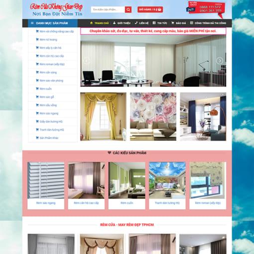 Mẫu Website Rèm Mành Rèm Cửa MA-3093