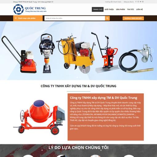 Mẫu Website Thiết Bị Điện Máy MA-3078