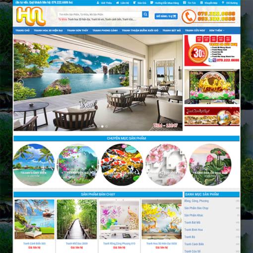 Mẫu Website Vẽ Tranh Tường MA-3099