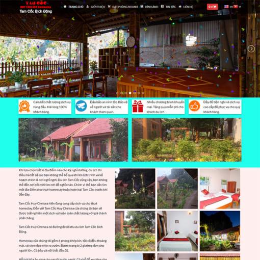 Mẫu Website Tam Cốc Bích Động MA-1175