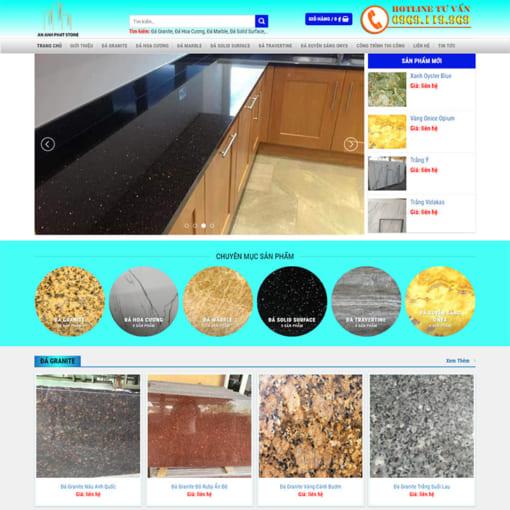 Mẫu Website Thi Công Nội Thất MA-1191