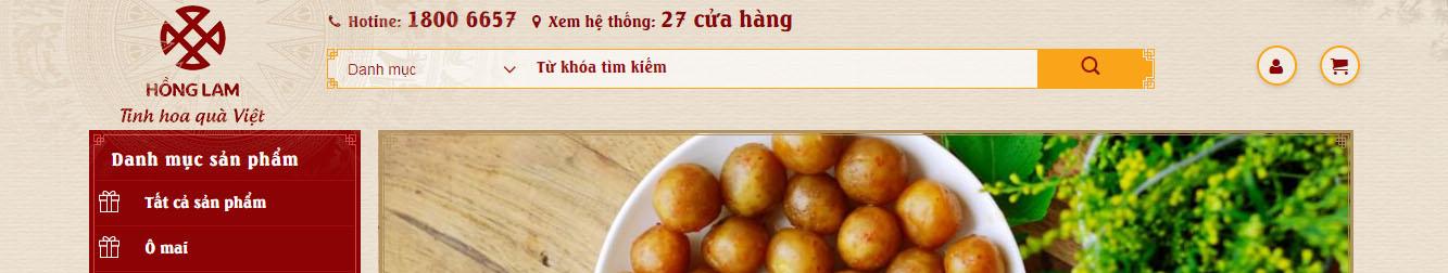 Ô mai Hồng Lam