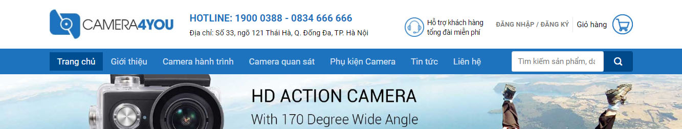 Camera2 – Theme WordPress bán camera mẫu số 2
