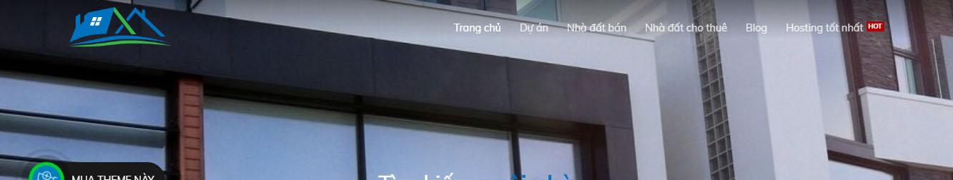 ChoThuePhong – Theme WordPress bất động sản giới thiệu nhiều dự án