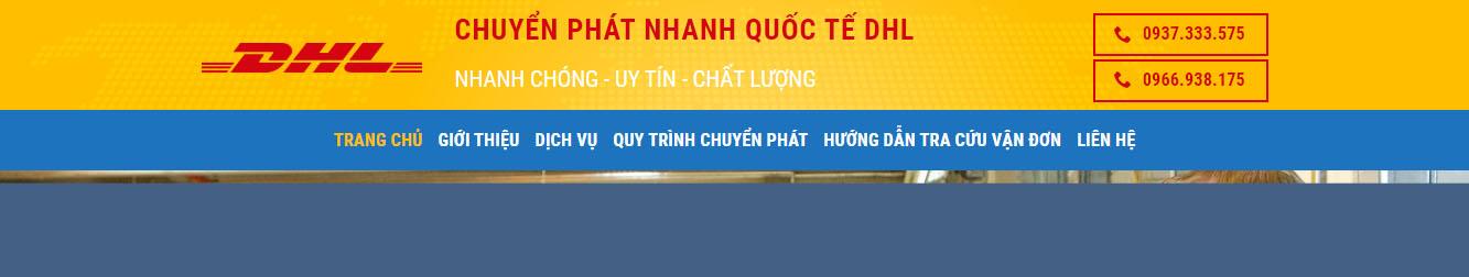 Chuyển phát nhanh quốc tế DHL – Nhanh chóng – Uy tín – Chất lượng