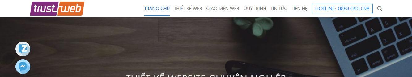 Dịch vụ thiết kế website chuẩn SEO uy tín