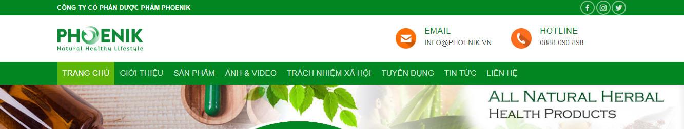DuocPham2 – Theme WordPress giới thiệu công ty Dược phẩm