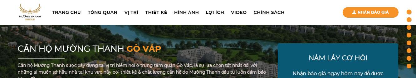 Mường Thanh – Theme WordPress bất động sản số 22