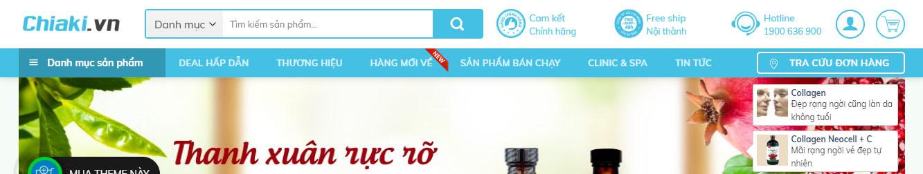 MyPham11 – Theme WordPress shop bán mỹ phẩm