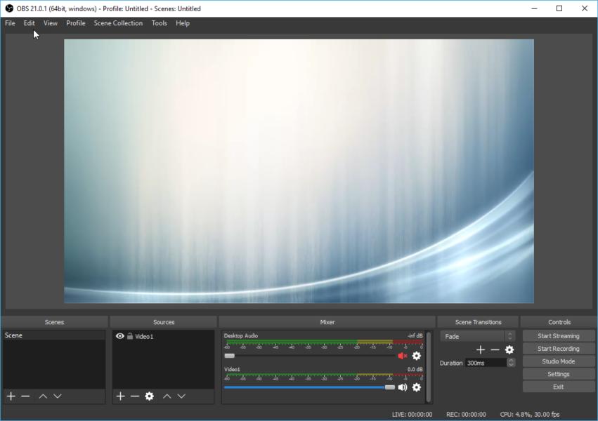 Hướng dẫn live stream từ file video có sẵn lên Facebook bằng phần mềm OBS