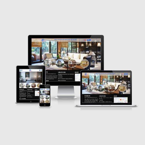 Mẫu Website Thiết Kế Kiến Trúc MA-195