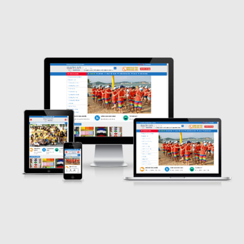 Mẫu Website Áo Đồng Phục MA-105