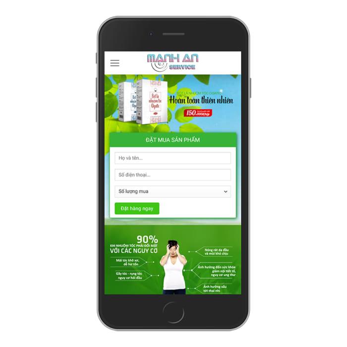 Mẫu Website Bán Thực Phẩm Chức Năng, Bán Thuốc MA-030