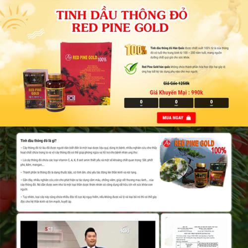 Mẫu Website Bán Tinh Dầu MA-177