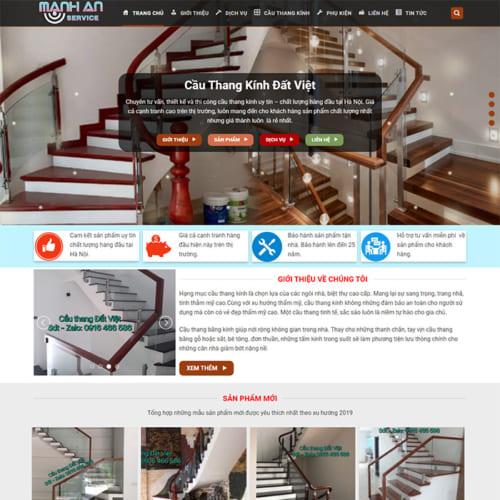 Mẫu Website Cầu Thang MA-103