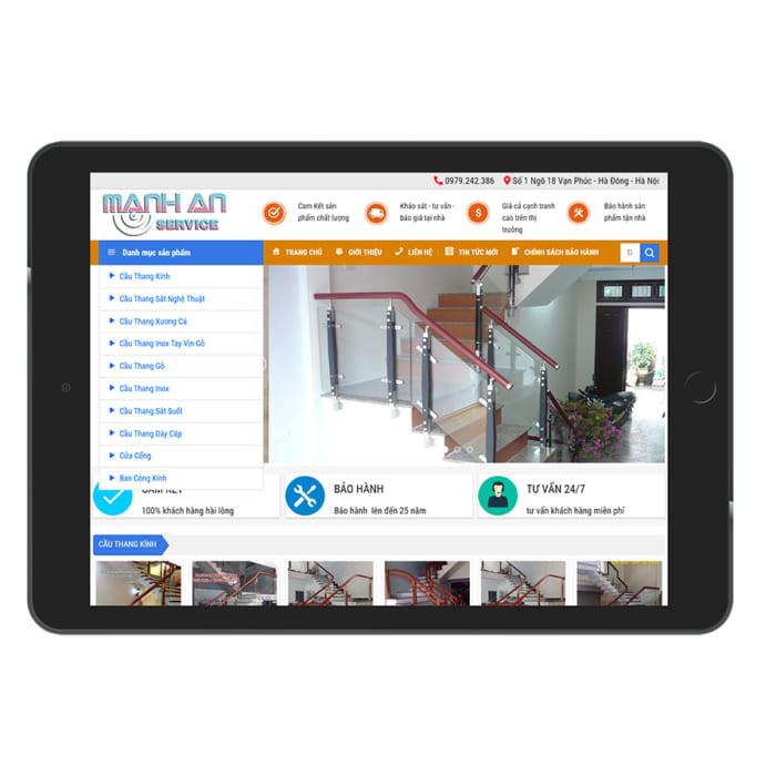 Mẫu Website Cầu Thang MA-118