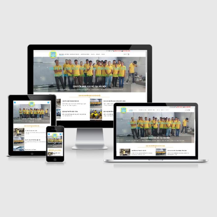 Mẫu Website Chuyển Nhà Trọn Gói MA-092