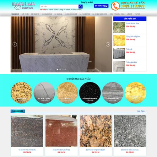 Mẫu Website Đá Ốp Lát MA-098