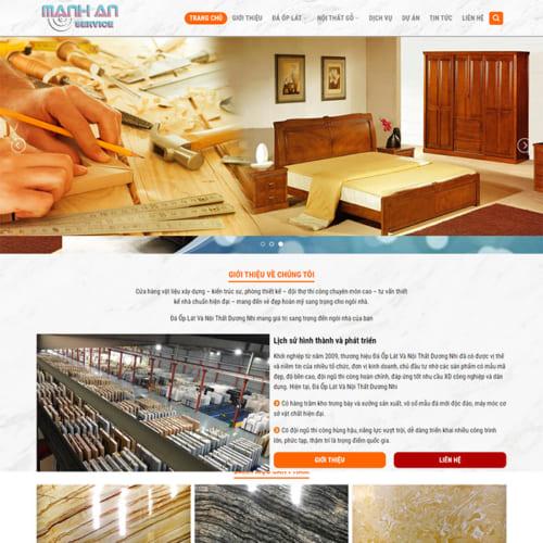 Mẫu Website Đá Ốp Lát MA-126