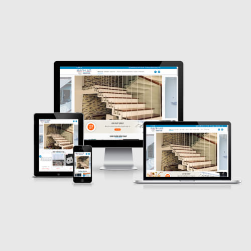 Mẫu Website Giàn Phơi Thông Minh MA-199
