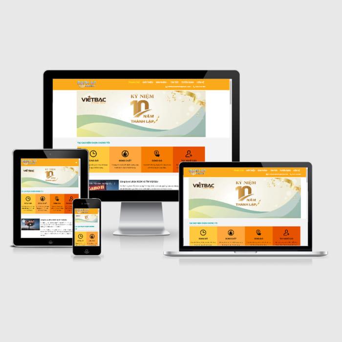 Mẫu Website In Ấn Quảng Cáo MA-149