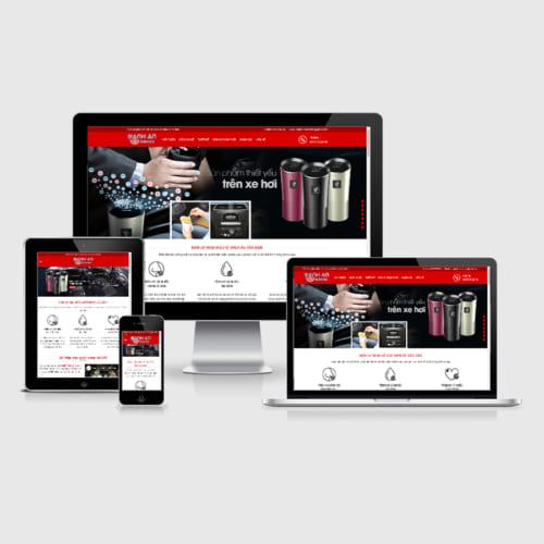 Mẫu Website Máy Lọc Không Khí Oto MA-062