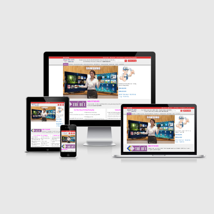 Mẫu Website Sửa Tivi MA-181