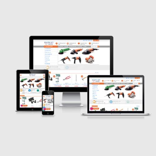 Mẫu Website Thiết Bị Điện Máy - Kim Khí MA-192
