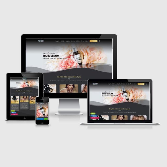 Mẫu Website Thực Phẩm Chức Năng MA-108