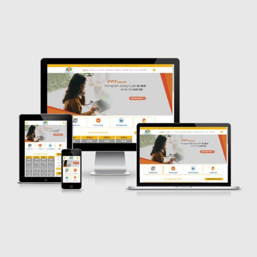 Mẫu Website Lắp Mạng Internet FPT MA-215