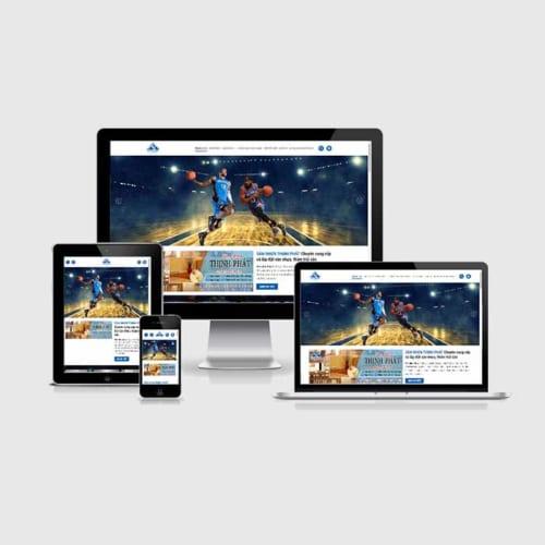 Mẫu Website Sàn Nhựa ,Thảm Trải Sàn MA-228