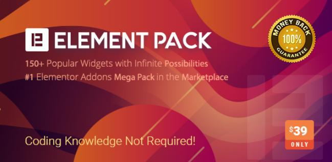 Element Pack Pro - Addon for Elementor - Hơn 60 module dành riêng cho Elementor