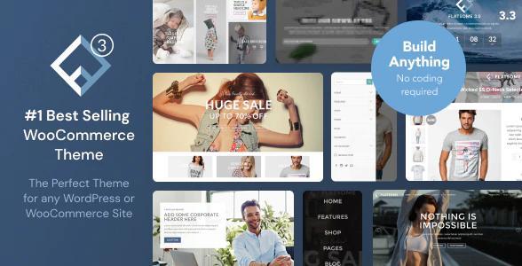 Theme Flatsome | Chủ đề WooC Commerce đáp ứng đa mục đích