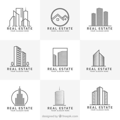 Mẫu File Logo Bất Động Sản đẹp - Miễn phí