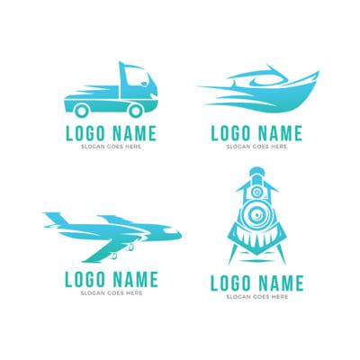 Mẫu File Logo Chuyển Nhà/Chuyển Phát Nhanh Đẹp - Miễn Phí