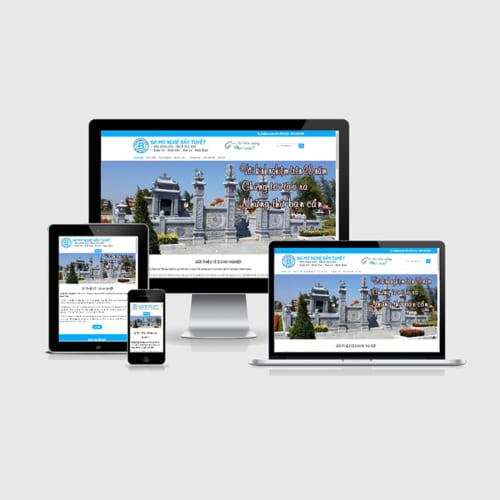 Mẫu Website Đá Mỹ Nghệ MA-246
