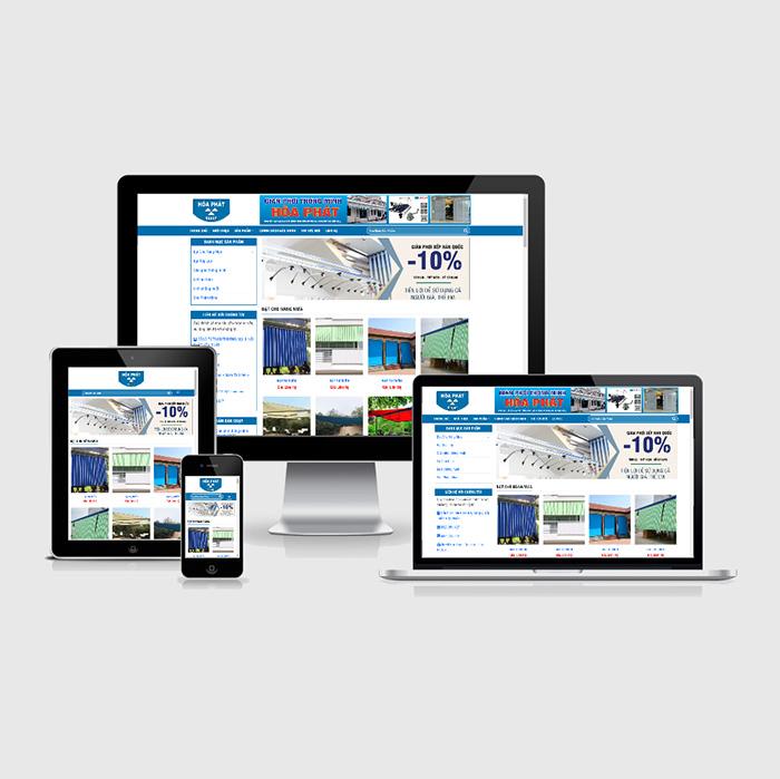 Mẫu Website Giàn Phơi Thông Minh MA-244