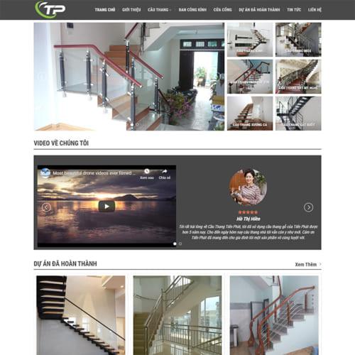 Mẫu Website Thiết Kế Cầu Thang MA-248